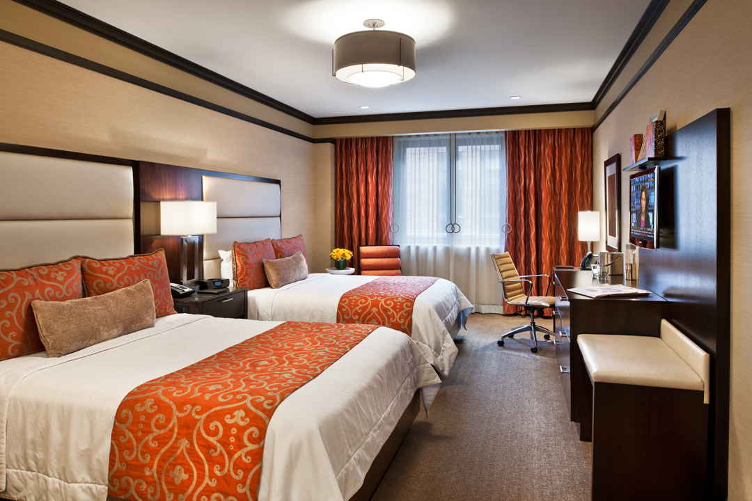 The Pearl - Deluxe Handicapped room with two double beds