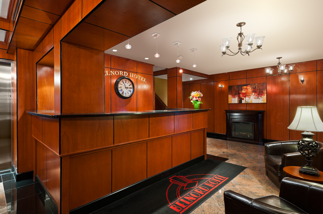 The Belnord Hotel - Front Desk